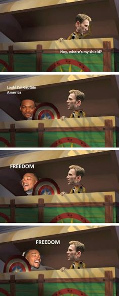 Freedom~~<<< Steve's like are you serious right now