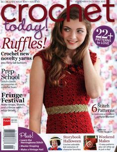 45 Best Mags Crochet Today Images In 2016 Crocheting Magazines