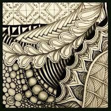 Resultado de imagem para zentangles