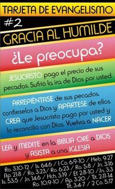 Evangelismo Creativo - Tarjetas de Ayuda para Evangelizar ~ Evangelismo Creativo