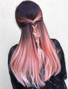 11 Rose Gold Hair Ideas You'll Really Go Wild For! #makeupideascolorful