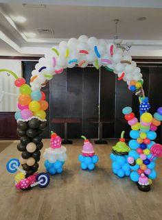 Candy arch balloon