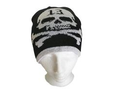 Lucky 13 Skull Crossbones Winter Ski Hat Toques Tuque Beanie Hats Ski Hill, Ball Caps, Skull And Crossbones, Beanie Hats, Skiing, Winter Hats, Cold, Ski, Beanies