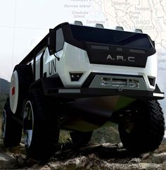 off road rescue trucks | Amphibious Rescue Craft, A.R.C, water jet propulsion