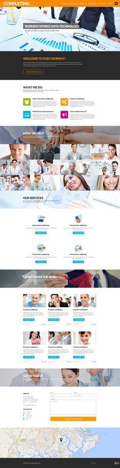 Consulting Co - WordPress Theme