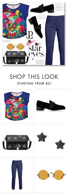 """""Hand Drawn Prints"" ans Star Outfits"" by jecakns ❤ liked on Polyvore featuring Dsquared2, Astley Clarke and Hakusan"