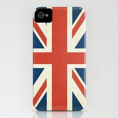 union jack distressed and vintage inspired for iphone 4, 4S, 3G, 3Gs, ipod, ipad, and laptop!