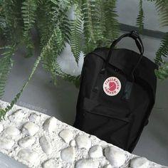 black Kanken bag