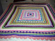 Ravelry: Faeries- Baby Sampler Afghan pattern by Elizabeth Mareno