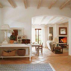 Spanish style homes – Mediterranean Home Decor Best Interior Design, Interior Decorating, Terracotta Floor, Spanish Style Homes, Mediterranean Home Decor, Cuisines Design, Cozy House, Home Decor Inspiration, Home And Living