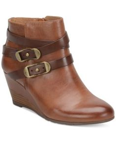 98137ab42ce Sofft Oakes Crisscross-Strap Booties Shoes - Boots - Macy s