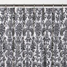 Fleur de Lis Shower Curtain and Bathroom Accessories #bathroom #shower_curtain