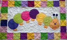 baby applique | catapillar