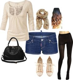 """""""school outfit"""" by marya-gtk ❤ liked on Polyvore"""