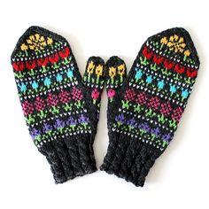 Ravelry: Taimitarhan Kukkalapaset pattern by Niina Laitinen Leg Warmers, Ravelry, Gloves, Legs, Winter, Pattern, Leg Warmers Outfit, Winter Time, Patterns