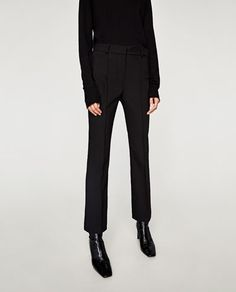 Image 2 of BOOTCUT TROUSERS from Zara