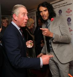 .Please take your finger away Prince Charles