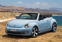 """The Beetle Cabriolet. As sun as possible.""               ..."