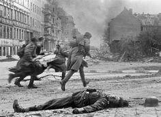 soviet troops, Berlin 1945 taking over Berlin as Germany is just a blur on the map