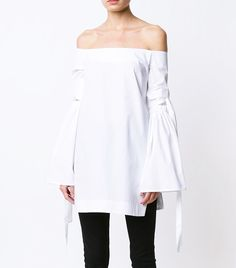 Unexpected Sleeves: Summer Trend Forecasting: Expect to See These 10 Pieces Everywhere via Spring Fashion Trends, Summer Trends, Spring Summer Fashion, Spring Outfits, Runway Fashion, Womens Fashion, Full Sleeves Design, Casual Chic, Style Guides