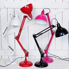 Designer Homewares, Furniture and Gifts at Trade Discount Prices Desk Lamp, Table Lamp, Daddy, Light Up, Playroom, My House, Sweet Home, Orange Yellow, Red Black