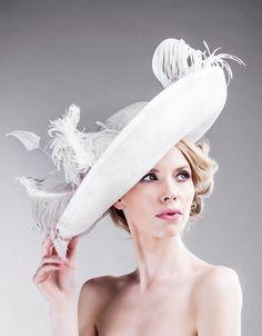 Victorian Inspired Hat Women's Accessories  by EllaGajewskaBRIDAL