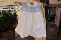 DIY, patrones, ropa de bebe y mucho más para coser.: Video tutorial: Vestido para bebés, modelo 145 de ...