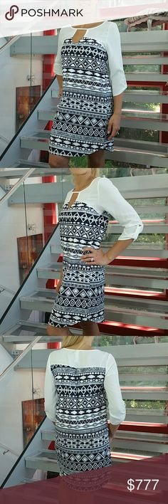 Coming soon Brand new without tags  Aztec print dress Tunic style Dresses