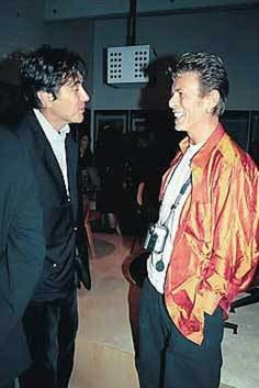 Bryan Ferry, David Bowie:  had been wondering how often these two similar icons crossed paths.