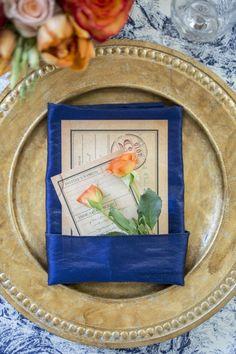 Wildflower_Linen_Moha_photography_blue_toile_table_linen_sapphire_napkin