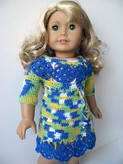 "Pattern for medium to full body 18"" doll such as American Girl doll or similar."