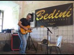 Max Bonfry Demo Stand Bedini Custom Guitars MUSICWALL 2013