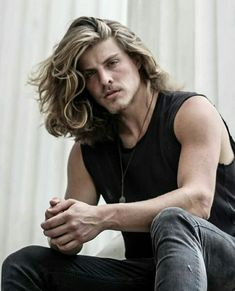 Francisco Albuquerque Sexy Men, Long Hairstyle, Blondes, Model, Instagram, Jeans, Country Guys, Long Hair