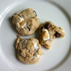 make bake & love: S'mores Cookies: The Perfect Summer Cookie