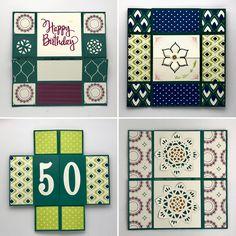 Endloskarte mit der wunderschönen Produktreihe Orientpalast zum 50. Geburtstag