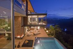 Photo of Justin Bieber house terrace with the view