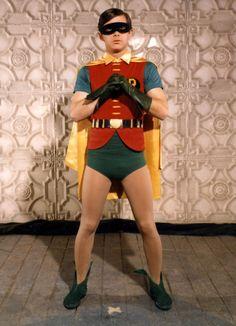 Burt Ward as 'Robin' from the 1960's 'Batman' TV show