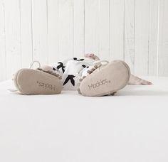 Mockies Babyshoes Fringe Boots Beige www.mockies.nl