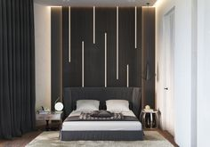 Modern and minimalist bedroom design ideas 34 – Bedroom Decor ideas - Bedroom Decor ideas Modern Minimalist Bedroom, Minimalist Home Decor, Modern Bedroom, Bedroom Decor, Bedroom Ideas, Bed Design, Home Design, Design Ideas, Design Art