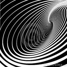 Mouvement spiralé de mouvement giratoire. Fond abstrait.