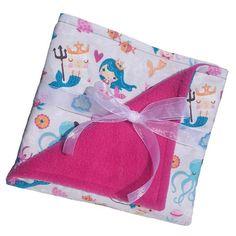 The Seven Seas Mermaid baby blanket. Ocean by LittleFairyCreation