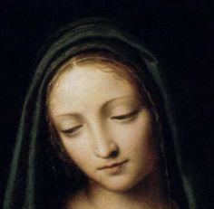 """""""Let us not imagine that we obscure the glory of the Son by the great praise we lavish on the Mother; for the more she is honored, the greater is the glory of her Son. There can be no doubt that whatever we say in praise of the Mother gives equal praise to the Son."""" ~ St. Bernard of Clairvaux"""