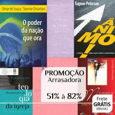 Bíblia ACF, Bíblia da Mulher que Ora e Livros de várias editoras na Promoção Arrasadora! 51% à 82%