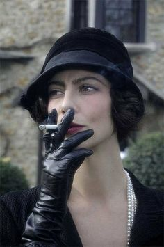 Anna Mouglalis as 'Gabrielle 'Coco' Chanel' - 2009 - Coco Chanel & Igor Stravinsky - Costume Design by Chattoune and Fab - Directed by Jan Kounen