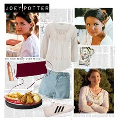 Joey Potter - Outfit Inspiration - Season 1 by vilena-ferreira on Polyvore featuring moda, maurices, Miss Selfridge, adidas, Charlotte Tilbury and Winco