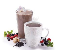 """Although Black Sesame is an extremely popular flavor in China and Hong Kong, most of us in the Western world are still unfamiliar with it. Lori H. describes the Black Sesame IsaLean Shake as tasting like """"a nutty light coffee drink with a light sweetness."""" Yum!"""
