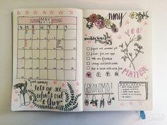 Image de bullet journal, journal, and journaling
