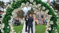 perfect wedding at Extravagant Wedding at The Breakers Palm Beach by Domino Arts Photography Breakers Palm Beach, The Breakers, Bride And Groom Pictures, Wedding Pictures, Domino Art, Flower Wall, Perfect Wedding, Backdrops, Art Photography