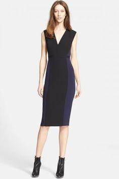 'April' Jersey Sheath Dress