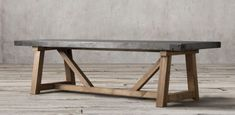 RH's Rectangular Table Collections:At Restoration Hardware, you'll explore an exceptional world of high quality unique dining room furniture. Browse our selection of dining room furniture sets & more at Restoration Hardware. Concrete Dining Table, Timber Table, Concrete Furniture, Reclaimed Furniture, Concrete Wood, Salvaged Wood, Leather Furniture, Dining Table Chairs, Wood Table
